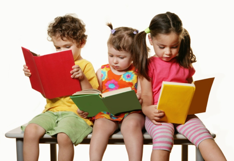 American kids are reading books