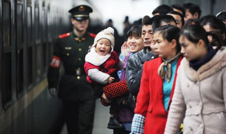 Chinese New Year is a time for family