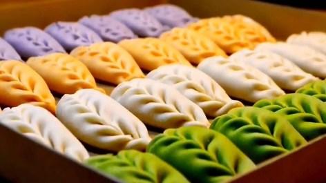 Chinese people will often make jiaozi