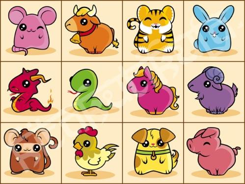 Chinese Zodiac 5