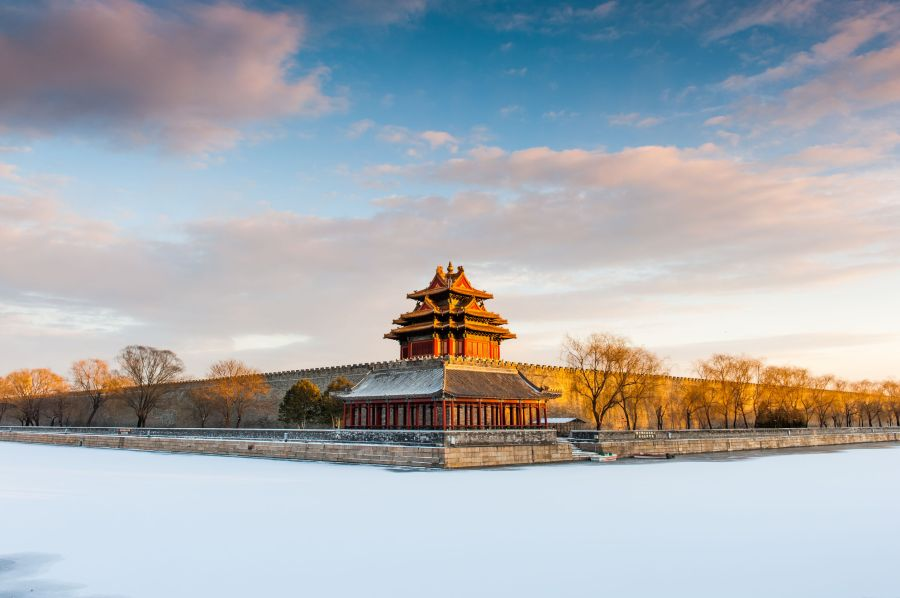 Watch tower of the Forbidden City