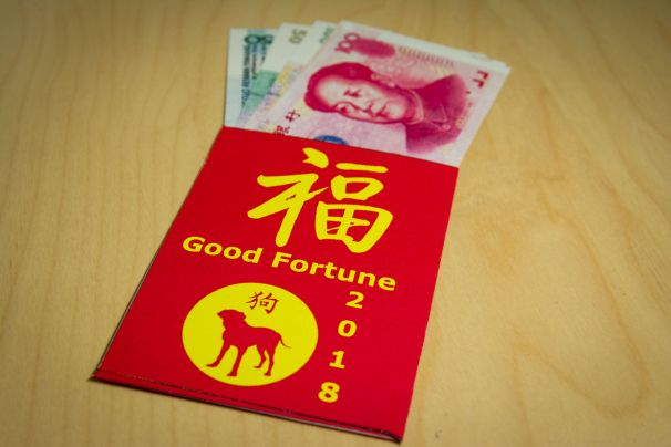 Red envelope for new year