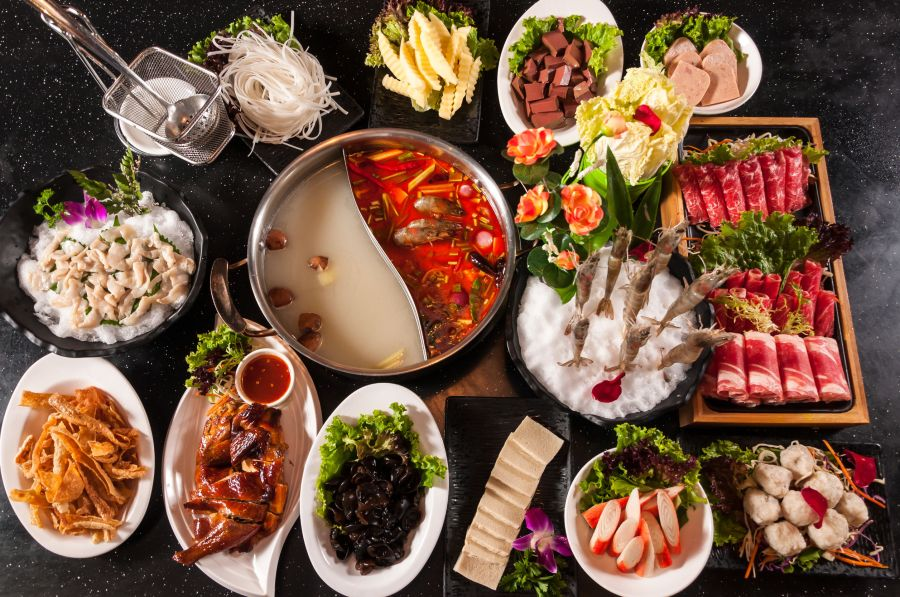 Traditional hotpot