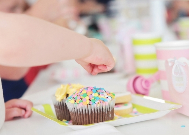 Birthday Cup cake